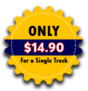 Only $9.90 for a single truck